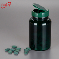 250ml Plastic Bottle with Flip Cap for Pharmaceutical