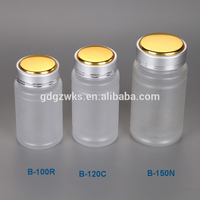 120cc Clear Plastic Bottle Capsules Packaging,Plastic Jars containers with Screw on Lids Wholesale