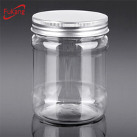 20 oz Pet Spice Container Jar with Label for Dry Spices Salt